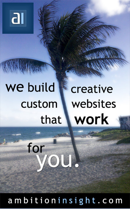 Custom Websites Flyer
